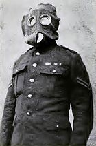 British soldier in a P or PH helmet