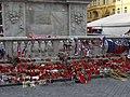 Brno, náměstí Svobody, pietní místo hokejistů (01).jpg