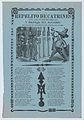 Broadsheet relating to womanizers who are standing on a corner looking up at a woman on a balcony MET DP868502.jpg