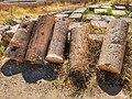 Broken Roman pillars (Jerash).jpg