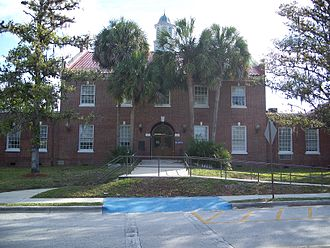 Levy County, Florida - Levy County Courthouse, in Bronson