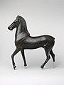 Bronze statuette of a horse MET DP120126.jpg