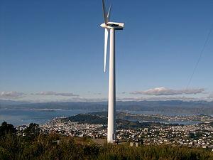 View from the Brooklyn Wind Turbine, Brooklyn, 2005.