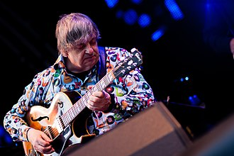 Philip Catherine - Image: Brussels Jazz Marathon 2012 Philip Catherine Quartet (7272168872)