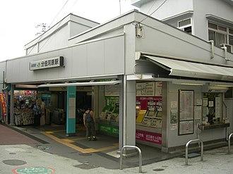 Bubaigawara Station - Bubaigawara Station, June 2008