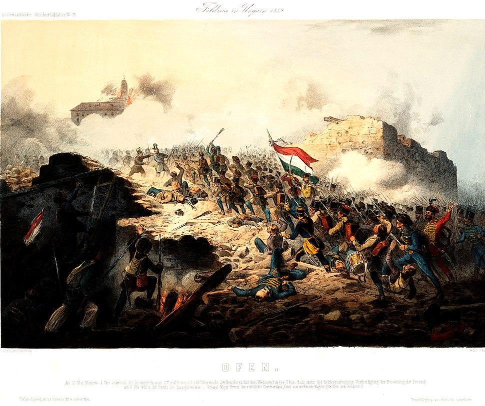 Buda ostroma 1849. május 21