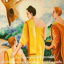 Buddha with Rahula