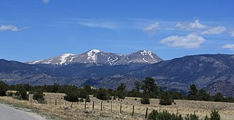 Chaffee County, Colorado - Buffalo Peaks near Buena Vista
