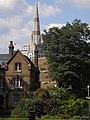 Buildings viewed from Imperial War Museum Gardens, Lambeth Road SE1 - geograph.org.uk - 2558657.jpg