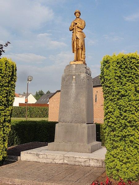 Buire (Aisne) monument aux morts