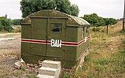Bundesarchiv B 145 Bild-F088900-0002, Wittenberg, Wächterhäuschen der Sowjetarmee
