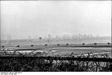 Bundesarchiv Bild 101I-300-1863-07, Riva-Bella, Panzerwerfer, Einschläge