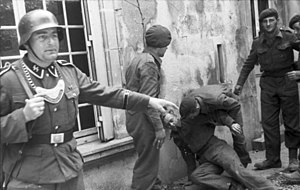 12th SS Panzer Division Hitlerjugend - British POWs captured by the division, 21 June 1944