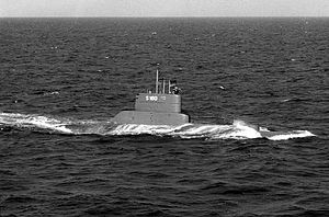 Coastal submarine - Type 205 submarine U-1