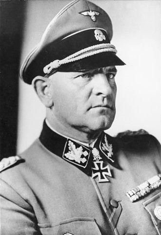 Malmedy massacre - SS-Obergruppenführer Sepp Dietrich in 1943.
