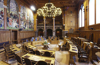 Council of States (Switzerland) - Image: Bundeshaus Ständeratssaal 001
