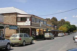 Bungendore Town in New South Wales, Australia