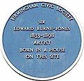 Burne-Jones blue plaque.jpg