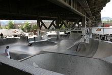 Uno Skatepark in Oregon.