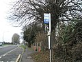 Bus stop near JM caravans - geograph.org.uk - 650033.jpg