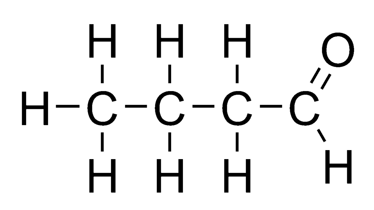 Ch3 Lewis Dot Structure: Butyraldehyd