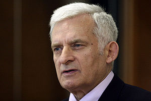 Member of the European Parliament Jerzy Buzek ...