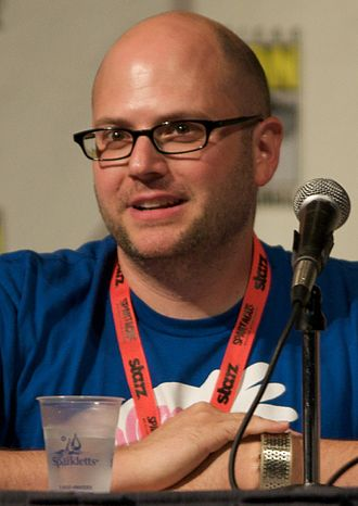 C. H. Greenblatt - Greenblatt at the 2009 San Diego Comic-Con