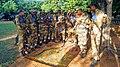 CISF subinspector trainees at jungle camp in NISA .jpg