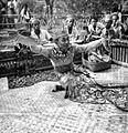 COLLECTIE TROPENMUSEUM Balinese kebyardanser begeleid door gamelan TMnr 10004728.jpg