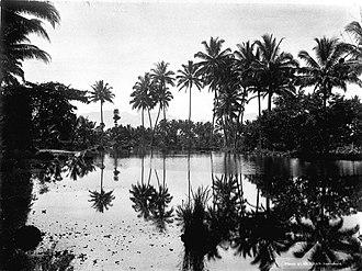 Gresik Regency - Fish pond in Gresik, colonial period in/before 1926