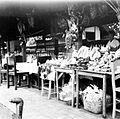 COLLECTIE TROPENMUSEUM Verkoop van schelpen schildpadden koralen e.a. te Jakarta Java TMnr 10002704.jpg