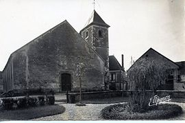 CPA Eglise chailley 5.jpg