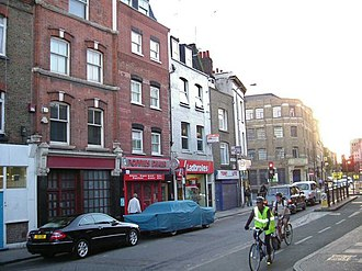 Cable Street - Image: Cable Street geograph.org.uk 253565
