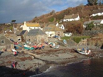 Grade–Ruan - The fishing port of Cadgwith is in Grade-Ruan parish
