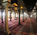 Cairo - Islamic district - Al-Azhar Mosque prayer hall.JPG