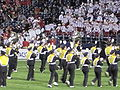 Cal Band performing at halftime at 2009 Poinsettia Bowl 3.JPG