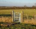 Calcutt House farm, kissing gate - geograph.org.uk - 1091853.jpg