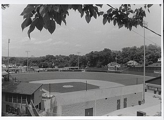 Pulaski Yankees - Photo of Calfee Park in 2005