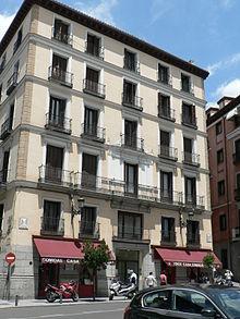 La casa-pensión en el n° 88 de la Calle Mayor