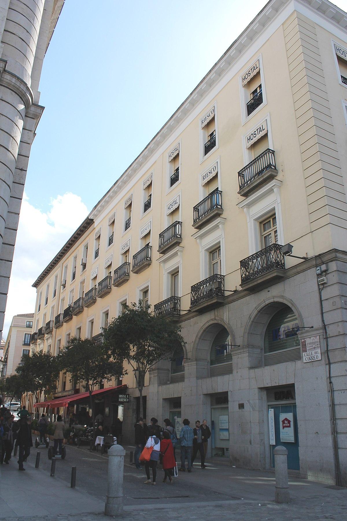 Calle del correo wikipedia la enciclopedia libre for Correo real madrid