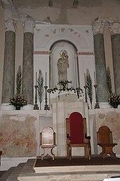 Madonna della Neve, basilica cattedrale di Maria Santissima Assunta di Caltabellotta.
