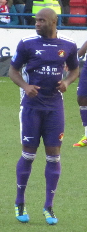 Calum Willock - Willock playing for Ebbsfleet United in 2012