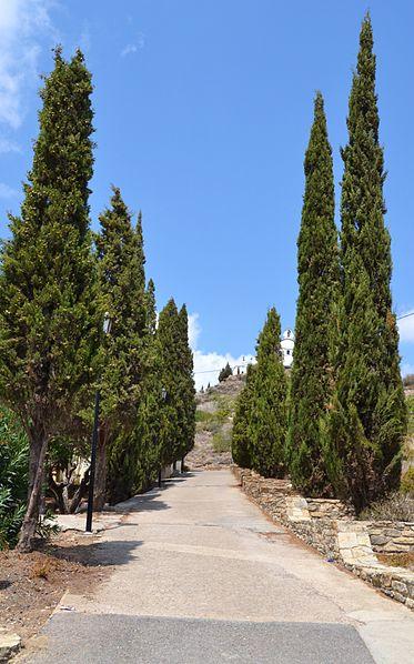 File:Camí a l'ermita de la mare de Déu dels Afligits d'Alfara de la Baronia.JPG