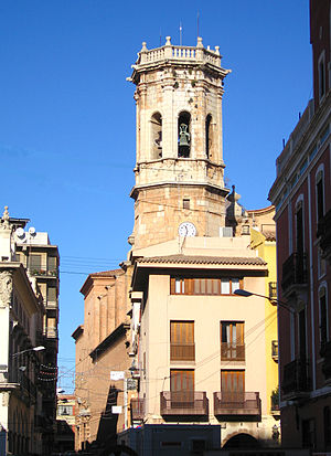 Villarreal - The belfry of Sant Jaume Church