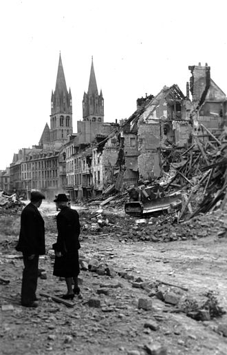 Caen - Ruins of Caen