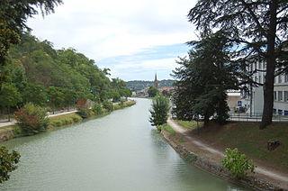 Canal latéral à la Garonne à Agen