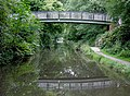 Canal footbridge near Dickens Heath, Solihull - geograph.org.uk - 1720379.jpg
