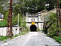 Canfranc Station Somport Tunnel Portal.jpg