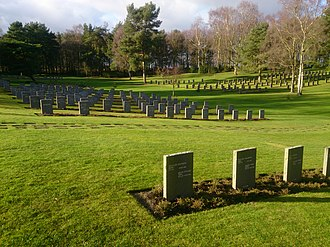 Cannock Chase German Military Cemetery - A view across Cannock Chase German Military Cemetery