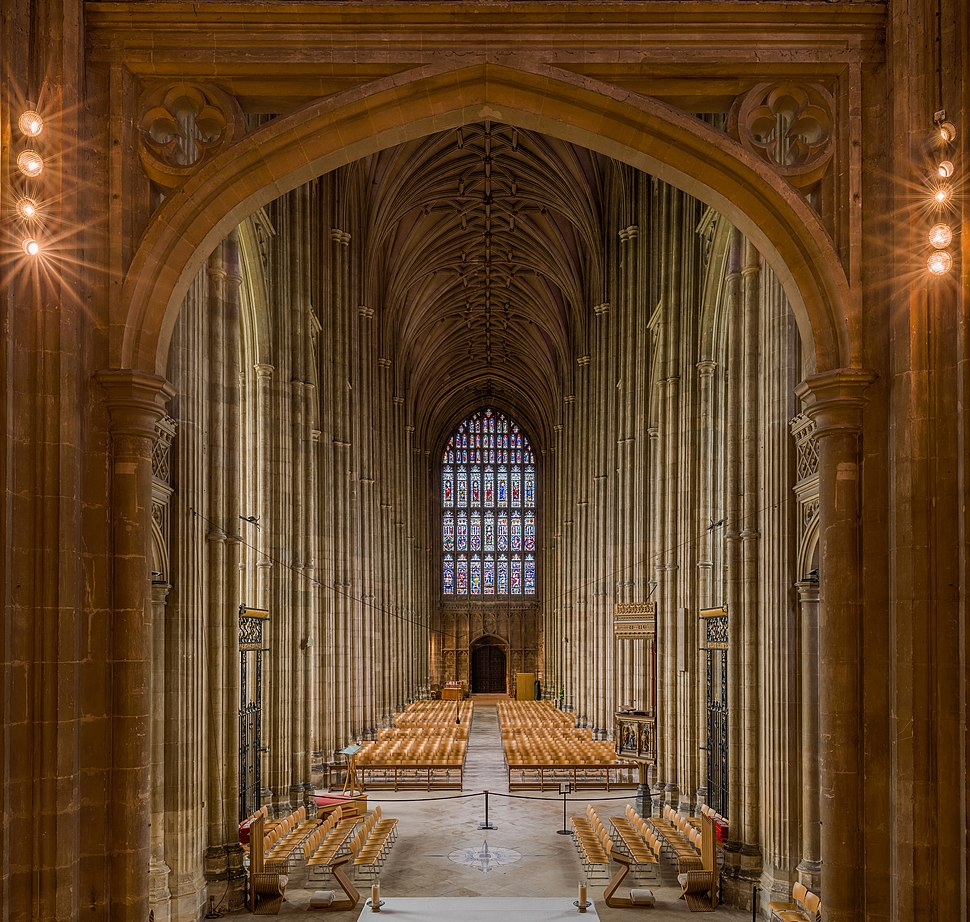 Canterbury Cathedral Nave 1, Kent, UK - Diliff